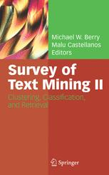 Survey of Text Mining II