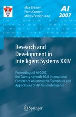 Research and Development in Intelligent Systems XXIV