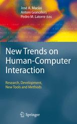 New Trends on Human–Computer Interaction
