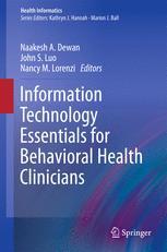 Information Technology Essentials for Behavioral Health Clinicians
