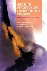 Médecine personnalisée en cancérologie digestive