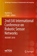 2nd EAI International Conference on Robotic Sensor Networks