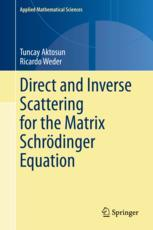 Direct and Inverse Scattering for the Matrix Schrödinger Equation