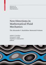 New Directions in Mathematical Fluid Mechanics