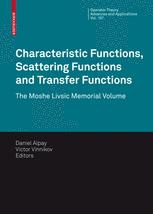 Characteristic Functions, Scattering Functions and Transfer Functions
