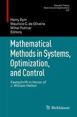 Mathematical Methods in Systems, Optimization, and Control