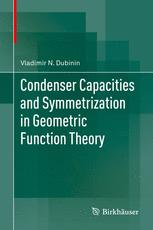 Condenser Capacities and Symmetrization in Geometric Function Theory
