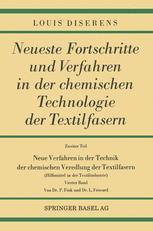 Neue Verfahren in der Technik der chemischen Veredlung der Textilfasern