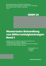 Numerische Behandlung von Differentialgleichungen Band 3