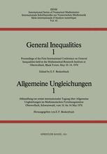General Inequalities 1 / Allgemeine Ungleichungen 1