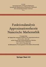 Funktionalanalysis Approximationstheorie Numerische Mathematik