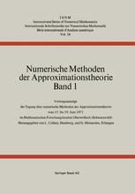 Numerische Methoden der Approximationstheorie