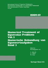 Numerical Treatment of Eigenvalue Problems Vol. 3 / Numerische Behandlung von Eigenwertaufgaben Band 3