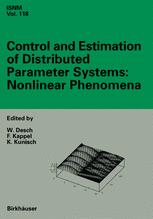 Control and Estimation of Distributed Parameter Systems: Nonlinear Phenomena