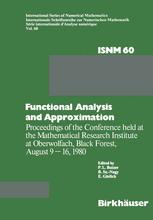 Functional Analysis and Approximation