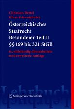 Österreichisches Strafrecht Besonderer Teil II (§§ 169 bis 321 StGB)