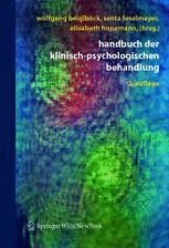 Handbuch der klinisch-psychologischen Behandlung
