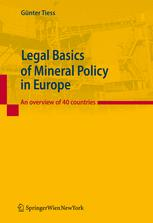 Legal Basics of Mineral Policy in Europe
