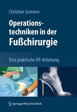 Operationstechniken in der Fußchirurgie