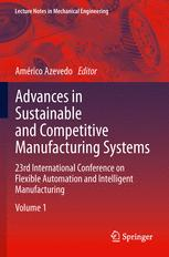 Advances in Sustainable and Competitive Manufacturing Systems