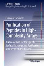 Purification of Peptides in High-Complexity Arrays