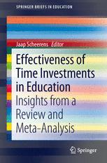 Effectiveness of Time Investments in Education