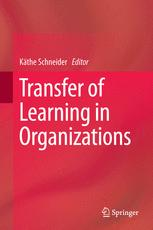 Transfer of Learning in Organizations