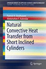 Natural Convective Heat Transfer from Short Inclined Cylinders