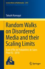 Random Walks on Disordered Media and their Scaling Limits