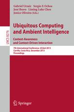 Ubiquitous Computing and Ambient Intelligence. Context-Awareness and Context-Driven Interaction
