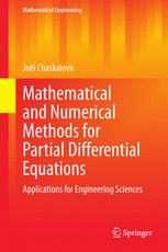 Mathematical and Numerical Methods for Partial Differential Equations