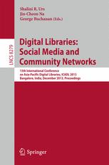Digital Libraries: Social Media and Community Networks