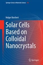 Solar Cells Based on Colloidal Nanocrystals