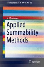 Applied Summability Methods
