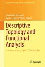 Descriptive Topology and Functional Analysis