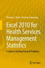 Excel 2010 for Health Services Management Statistics