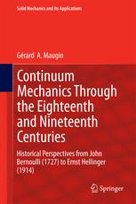 Continuum Mechanics Through the Eighteenth and Nineteenth Centuries