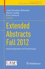 Extended Abstracts Fall 2012