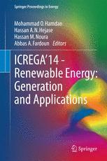 ICREGA'14 - Renewable Energy: Generation and Applications