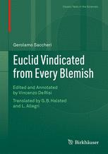 Euclid Vindicated from Every Blemish