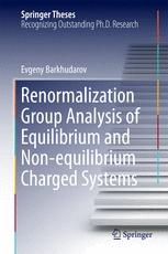 Renormalization Group Analysis of Equilibrium and Non-equilibrium Charged Systems