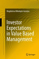 Investor Expectations in Value Based Management