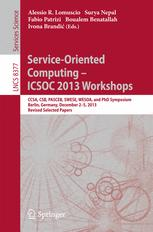 Service-Oriented Computing – ICSOC 2013 Workshops