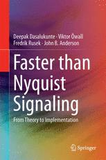 Faster than Nyquist Signaling