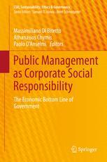 Public Management as Corporate Social Responsibility
