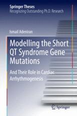 Modelling the Short QT Syndrome Gene Mutations