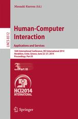 Human-Computer Interaction. Applications and Services