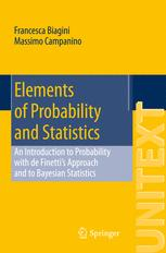 Elements of Probability and Statistics