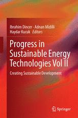Progress in Sustainable Energy Technologies Vol II