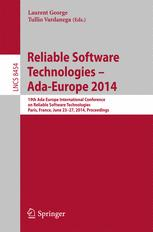 Reliable Software Technologies – Ada-Europe 2014
